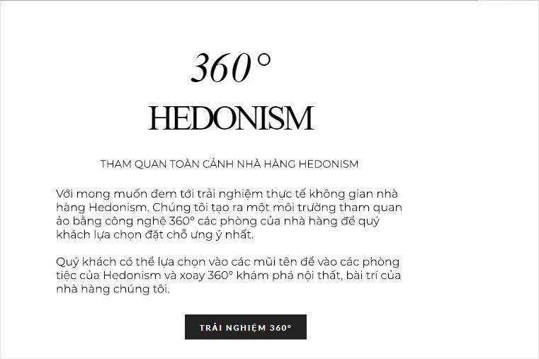 Nhà hàng Hedonism