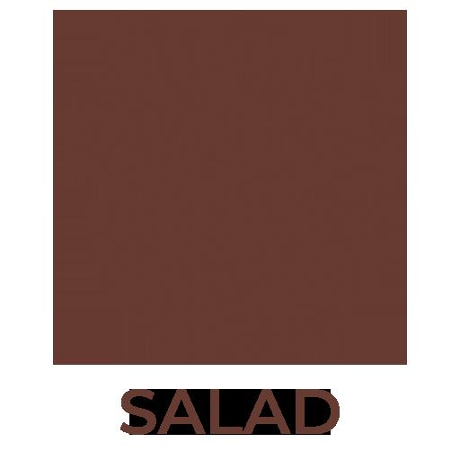 Nút salad  nhà hàng Hedonism