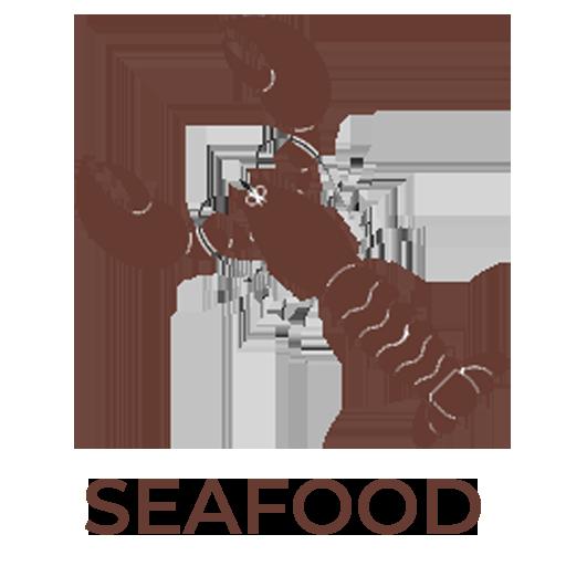 Nút hải sản nhà hàng Hedonism